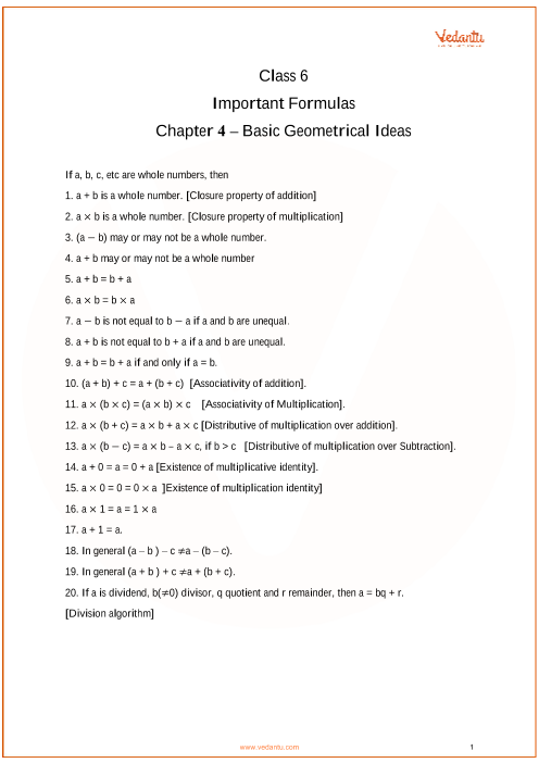 Chapter 4 - Basic Geometrical Ideas part-1