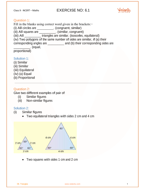 Chapter 6-Triangles part-1