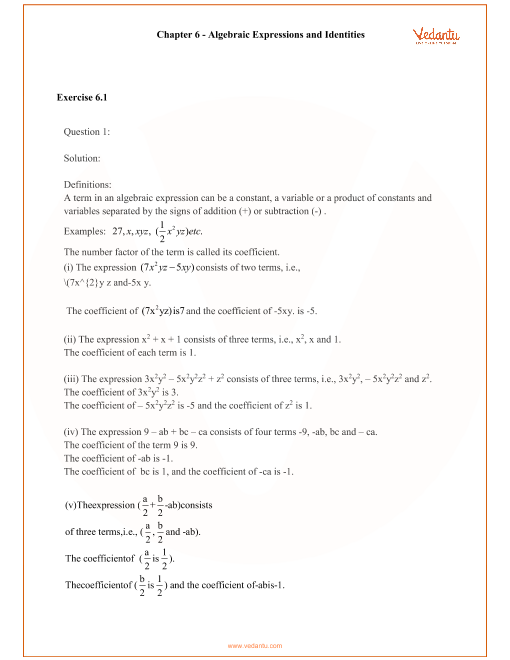 RD Sharma Class 8 Solutions Chapter 6 part-1