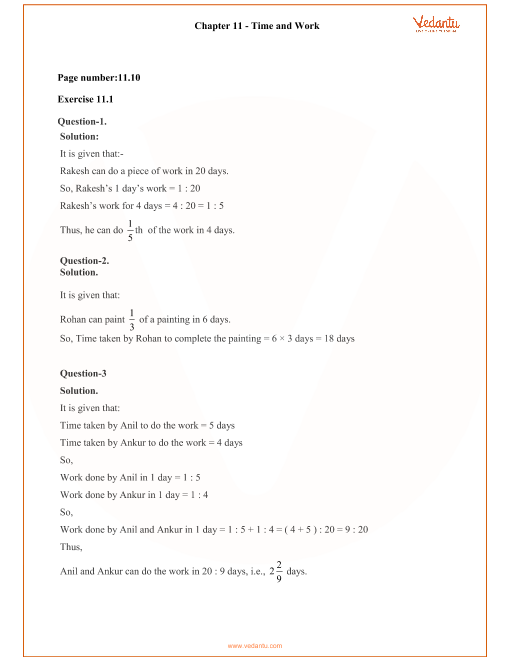 RD Sharma Class 8 Solutions Chapter 11 part-1